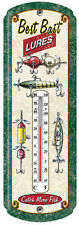 Vintage, Nostolgic Thermometers, Hunting, Fishing, Deer ,Shotgun Shells,