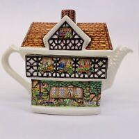 James Sadler Wisteria Lodge Country Cottages Ivy House Fine Bone China Teapot