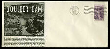 U.S. FDC #774 Planty #P9 1st Boulder Dam Service Bureau Cachet Boulder City, NV