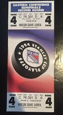 1994 NEW YORK RANGERS STANLEY CUP SEMIFINALS PLAYOFF TICKET Unused Mint