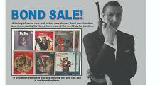 James Bond 007 CED Disc. Individually sold