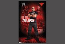 THE ROCK Dwayne Johnson WWE WWF Wrestling Official POSTER