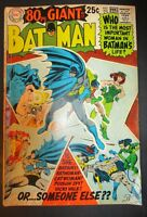 DC Comics Bat Man # 208 GIANT / Poison Ivy Catwoman 1969 Vintage Old Comic
