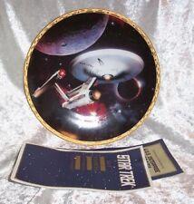 U.S.S.Enterprise Ncc-1701 Hamilton Plate