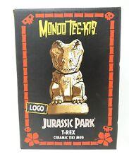 Mondo Jurassic Park T-Rex Tiki Mug Logo Variant Limited Edition SOLD OUT