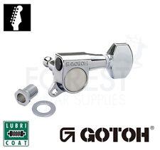 GOTOH SGM-07 6L guitar machine heads, tuners chrome