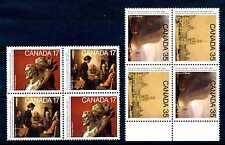 CANADA - 1980 - Centenario della Reale Accademia delle arti. Coppia