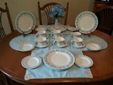 Wedgewood Queensware with Bonus Table Linens