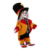 Vintage Hand Painted Porcelain Clown Doll Ceramic Clown Dolls Decoration #2