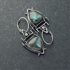 Drop Dangle Hook Earrings Jewelry Gift Fashion Women Amethyst Square Round Pear