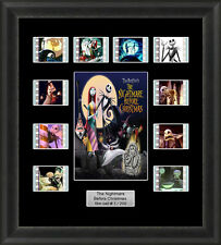 The Nightmare Before Christmas Framed 35mm Film Cell Memorabilia Filmcells Movie