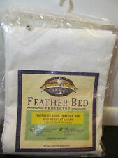 Pacific Coast Feather Bed Protector 100% Cotton, Twin Size