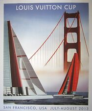 L.V. Cup 2013 Signed Razzia Poster, San Francisco, Mounted on Linen