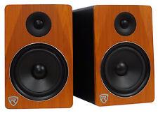 "Rockville APM8C 8"" 2-Way 500W Active/Powered USB Studio Monitor Speakers Pair"