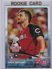 KRIS BRYANT ROOKIE CARD Chicago Cubs 2015 Topps Update HR Derby BASEBALL RC