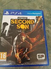 Infamous second fils Ps4 Game