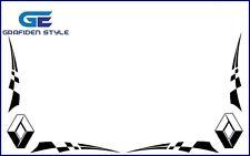 1 Paar RENAULT - Seitenfenster Aufkleber - Sticker / Decal !!-!!-!!
