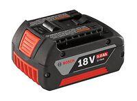 Bosch BAT621 18-Volt 5.0 Ah Lithium-Ion FatPack Battery