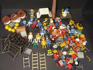 Großes Konvolut Playmobil 80iger Jahre 14 Figuren und div. Kleinteile
