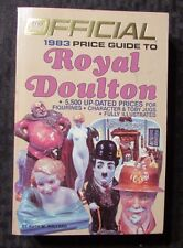 1983 Official Price Guide ROYAL DOULTON  by Ruth Pollard 2nd Ed. Paperback VF+