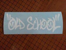Old School Funny Car/SUV/Truck/Boat Window Vinyl Decal Sticker JDM Free Shipping