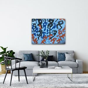 BROKEN INFINITY Abstract Painting On Canvas Original Wall Art By Kim Magee