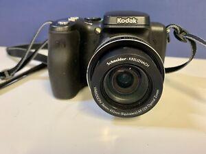 Kodak EasyShare Z812 IS 8.1MP Digital Camera - Black - Pre Owned TESTED WORKS