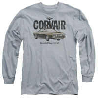 CHEVY RETRO CORVAIR Licensed Adult Men's Long Sleeve Graphic Tee Shirt SM-3XL