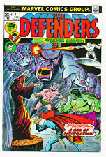 MARVEL THE DEFENDERS 1973 #11  NM SILVER SURFER GUEST GREAT COLOR  FREE SHIPPING