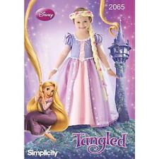 La simplicité à coudre motif disney's emmêlés enfant rapunzel costume 3 - 8 2065