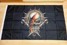 Fahnen Flagge Totenkopf Deutschland Skull - 90 x 150 cm