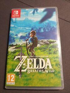 Jeu Nintendo Switch The Legend Of Zelda Breath Of The Wild Comme Neuf !