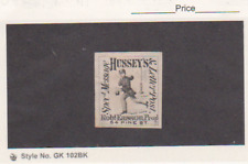 US 1877 Local Post Scott # 87L55 Reprint HUSSEY SPEC MESSAGE UNUSED OG MH