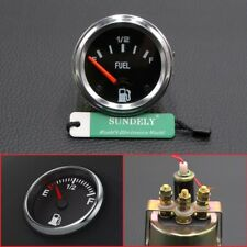 2'' 52mm Universal Car Fuel Level Meter Gauge With Fuel