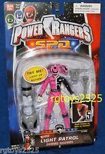 "Power Rangers SPD Light Patrol PINK Ranger New 5"" Factory Sealed 2004"