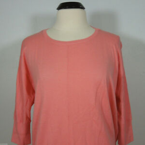 DKNY Women's Dolman Knit Top 3/4 Sleeves size P (NEW) NWT $160