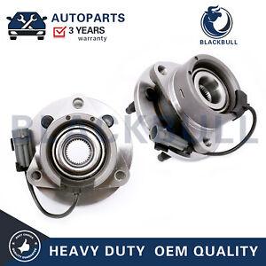 2 Chevy Cobalt Saturn Ion Pontiac G5 Pair Front Wheel Bearing and Hub 4LUG ABS