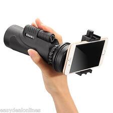 50X Zoom HD Optical Monocular Telescope Lens Mobile Phone Camera Tripod 9600m