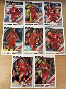2020 Panini Chronicles Soccer Liverpool Team Set 8 Cards
