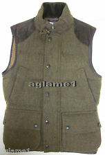NWT Ralph Lauren wool down leather trim hunting vest M Medium