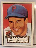 1983 Topps Joe Garagiola #227 Pittsburgh Pirates 1952 Reprint Baseball Card Mint