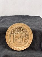University of South Carolina 1985 President's Council Bronze Medal Medallic Arts