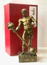 Sandow 1896 Bodybuilding trophy statue Antique Replica NOT Mr Olympia
