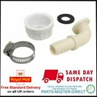 ANGLED WASHING MACHINE 3/8 PLASTIC HOSE END CONNECTOR 3/4