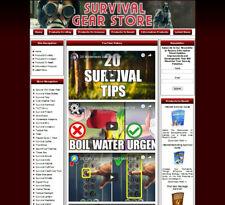 Survival Gear Store Affiliate Websiteamazongoogle Adsense