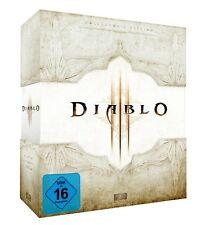Diablo 3 Collectors Edition d3 coleccionista-leerbox Empty box White.