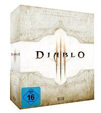 Diablo 3 Collectors Edition D3 Sammler - Leerbox  EMPTY Box white.