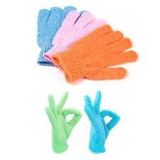 12 Pair Wholesale Lot Exfoliating Skin Spa Bath Gloves Shower Soap Clean Hygeine