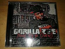 GORILLA ZOE. -   HOOD NIGGA DIARIES.  -   RARE RAP CD -  SEALED NEW