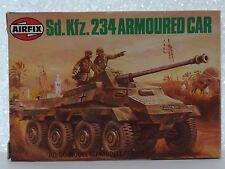 Airfix SdKfz 234 Armoured Car HO/OO #61311-2 1970's SCARCE PRESENTATION